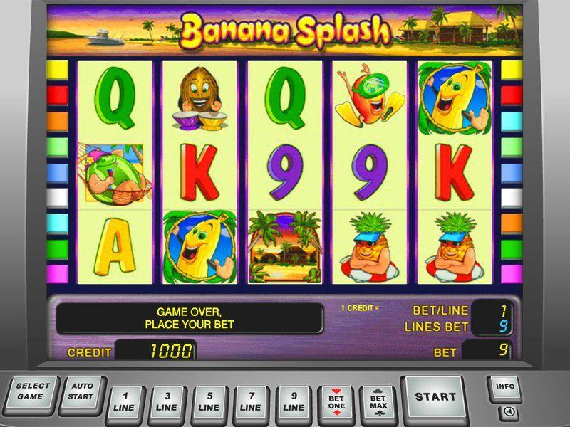 Banana Splash – обзор игрового автомата в Champion casino