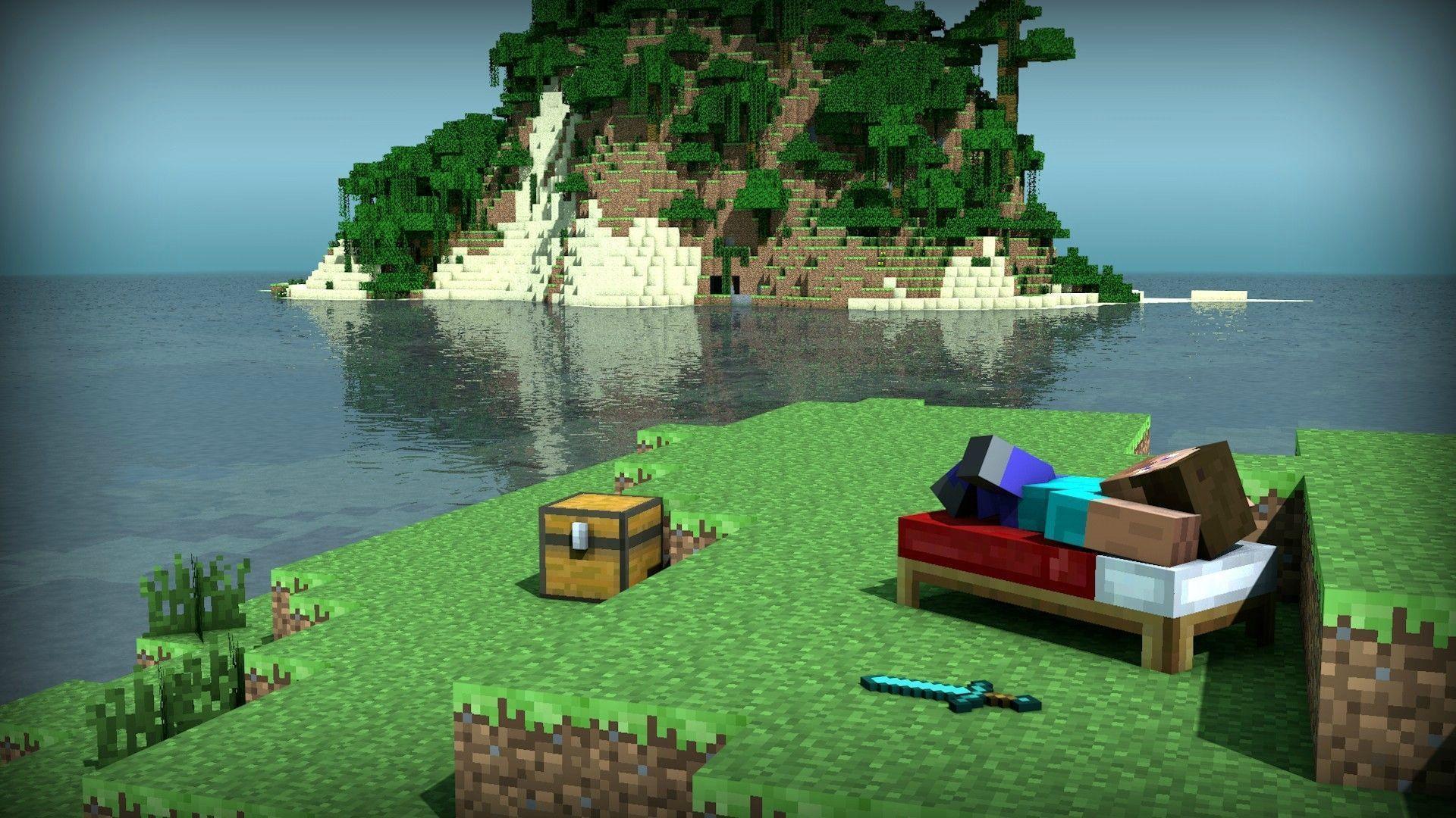 Делаем первые шаги в игре Minecraft
