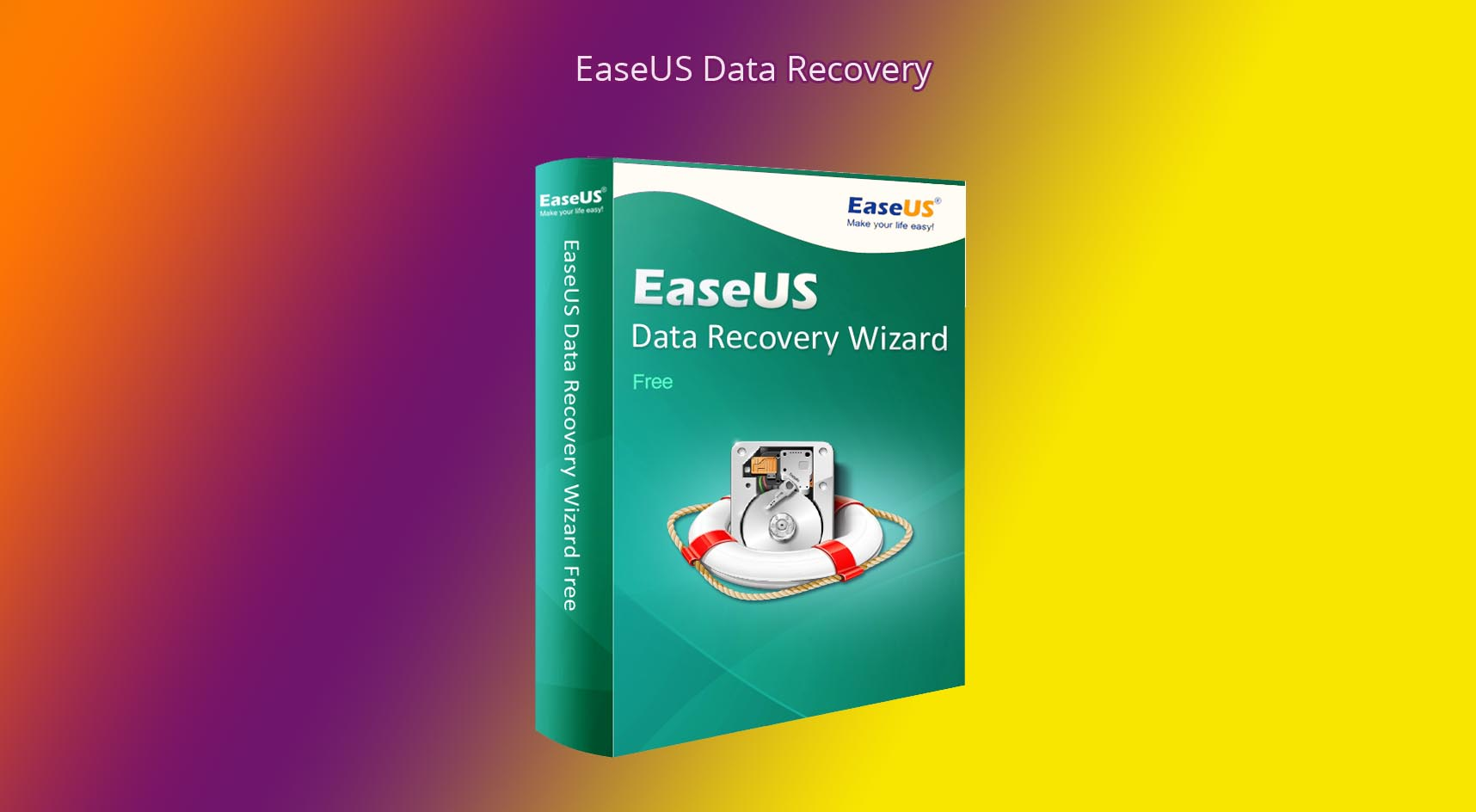 EaseUS Data Recovery – популярная программа для восстановления данных