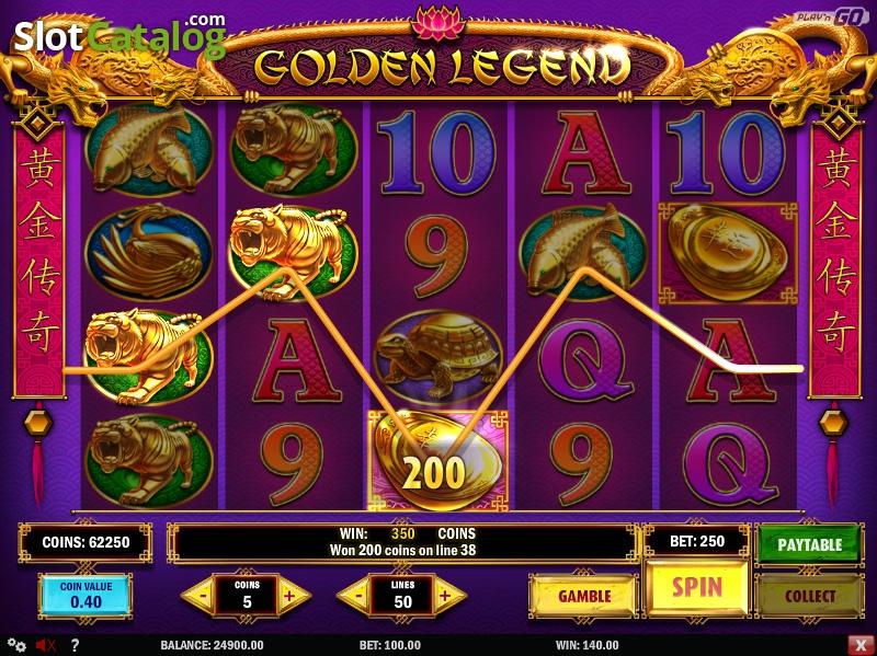 Обзор игрового слота Golden Legend от Azino777