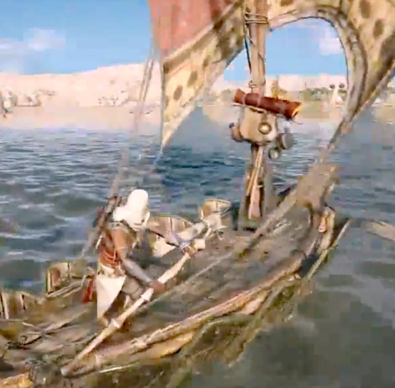 Опубликован 28-минутный геймплей Assassin's Creed: Origins с морскими сражениями на E3 2017
