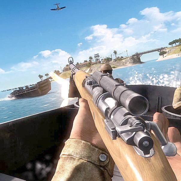 В игру Battlefield 1943 впервые можно играть на PC