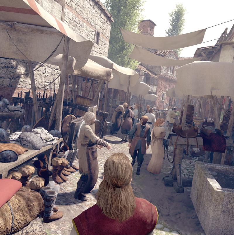 Возможности нового фотореалистичного движка игры Mount & Blade 2: Bannerlord показали на видео