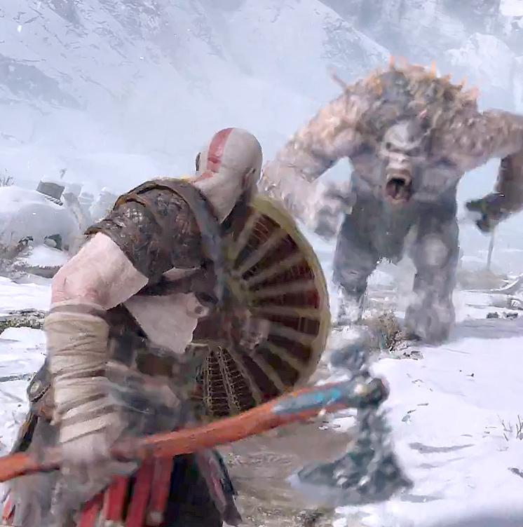 Компания Sony представила новый трейлер боевой системы и 17 минут геймплея God of War