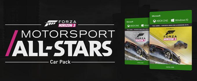 Forza Horizon 3 - Microsoft показала десятку