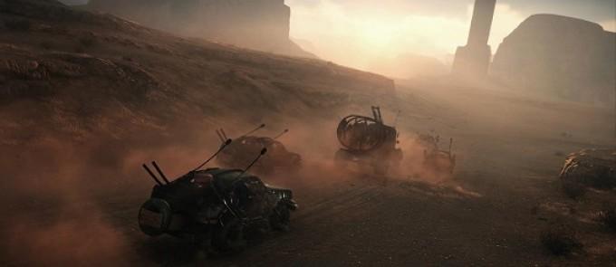 Mad Max - cканы из нового номера Game Informer