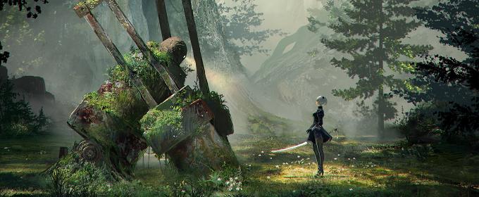 Nier: Automata - опубликовано 29-минутное геймплейное видео новой игры Platinum Games и Square Enix