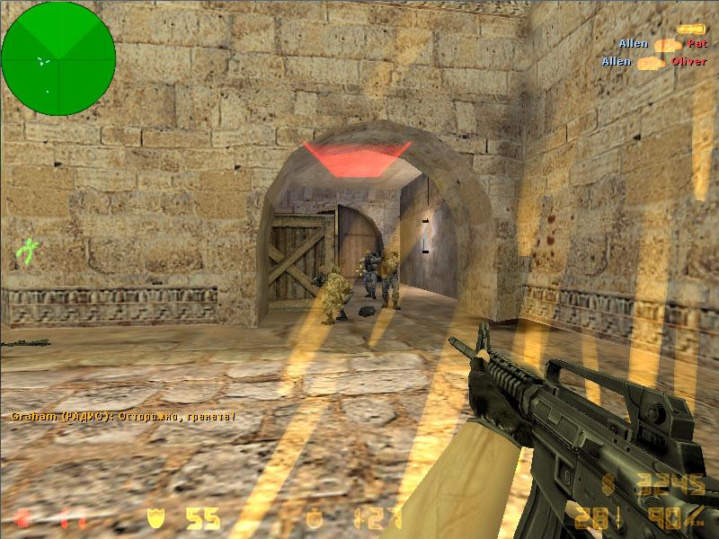Особенности сборок Counter Strike 1.6