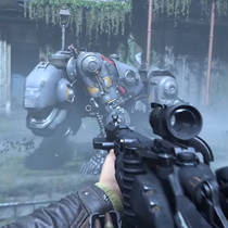 В 20-минутном ролике Wolfenstein II: The New Colossus показали поездки верхом на огнедышащем псе