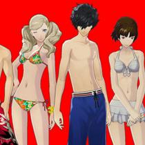 Persona 5 - продемонстрирован скачиваемый контент с набором купальников для героев