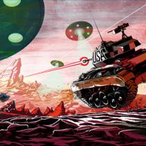 World of Tanks - праздник первого апреля консольным игрокам придется отмечать на Марсе