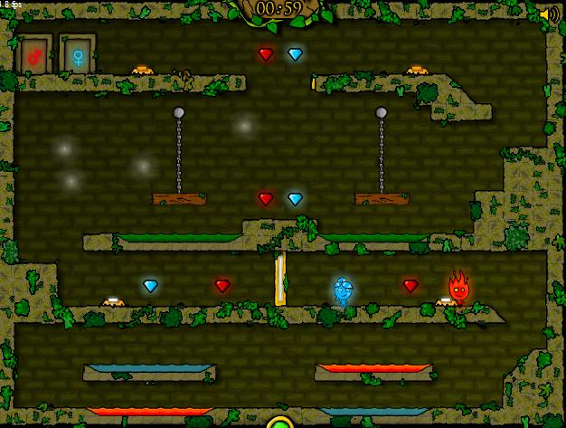 Описание популярной серии онлайн игр «Огонь и Вода»