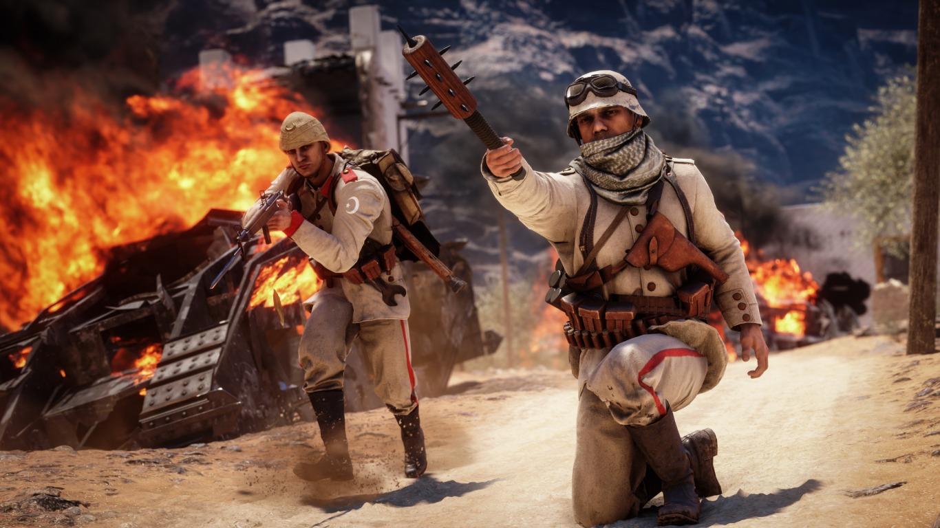 За какой класс лучше играть в игре Battlefield 1?