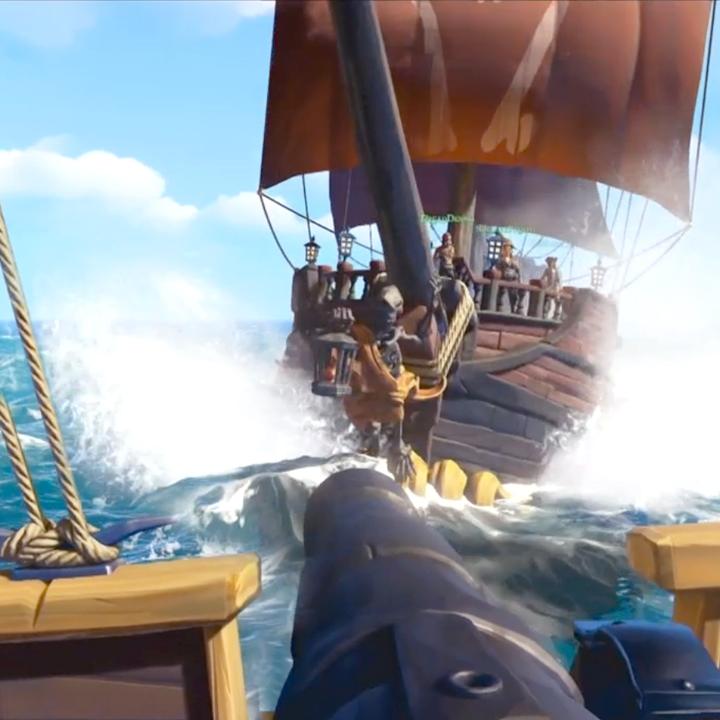 Игра Sea of Thieves на запуске будет работать в разрешении 540p и на 15 fps