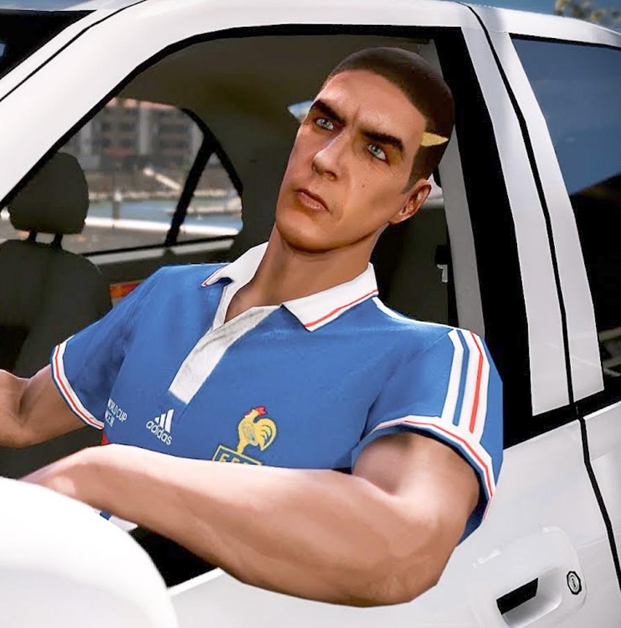 Россиянин воссоздал фильм «Такси» в игре GTA V