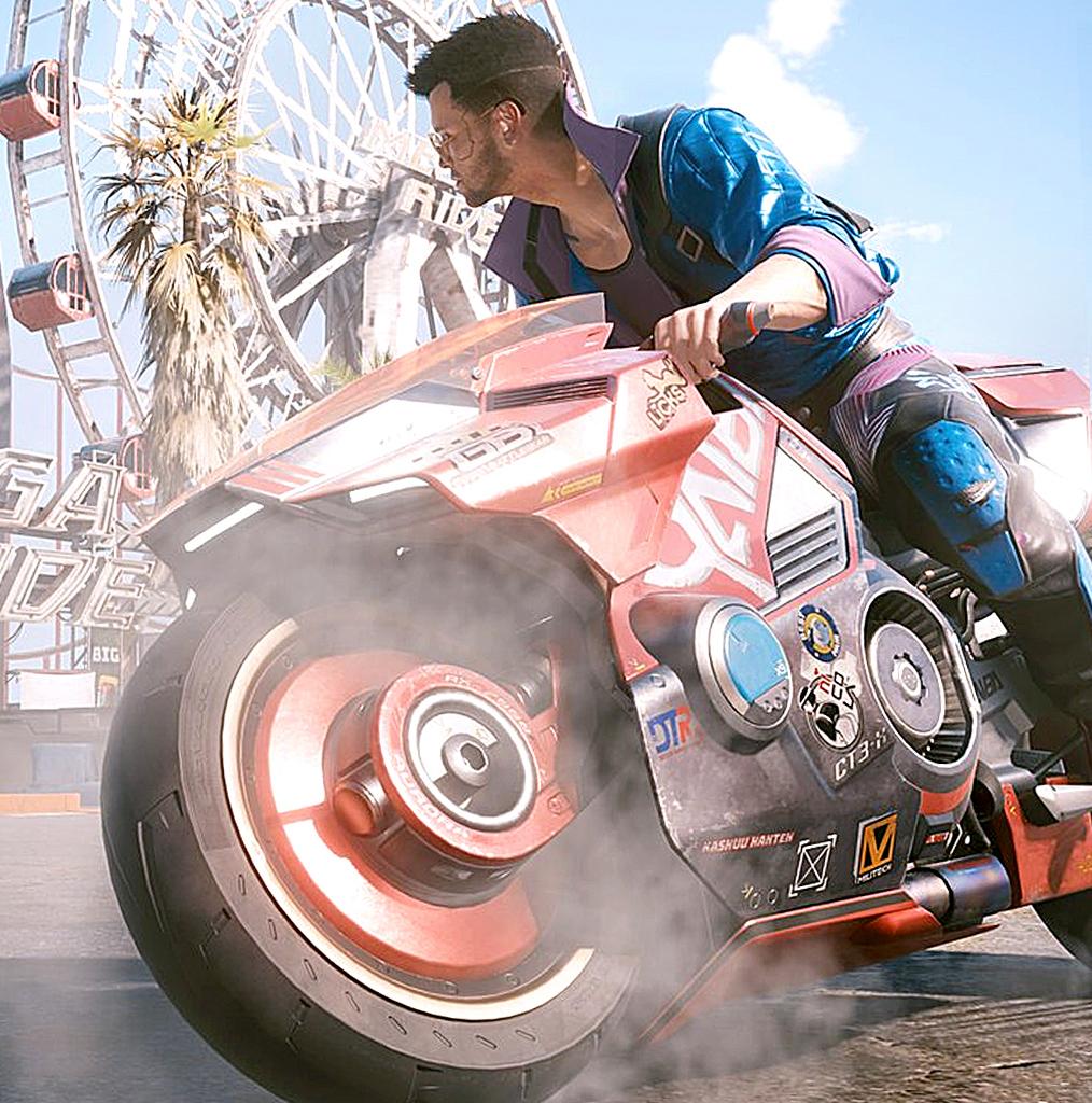 В Cyberpunk 2077 добавили новое управление автомобилями и мотоциклами