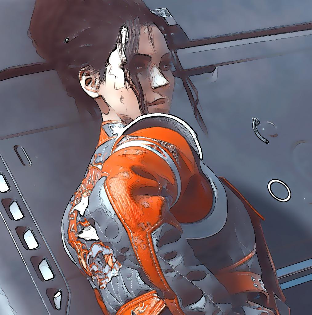 Cyberpunk 2077 графику превратили в Borderlands 4
