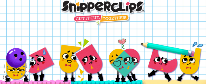 Обзор Snipperclips Plus: Cut It Out, Together
