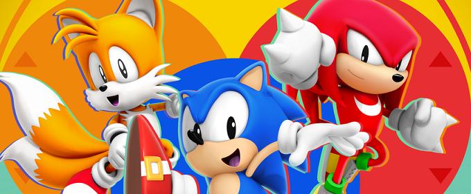 Sonic Mania - SEGA продемонстрировала соревновательный режим на двух игроков