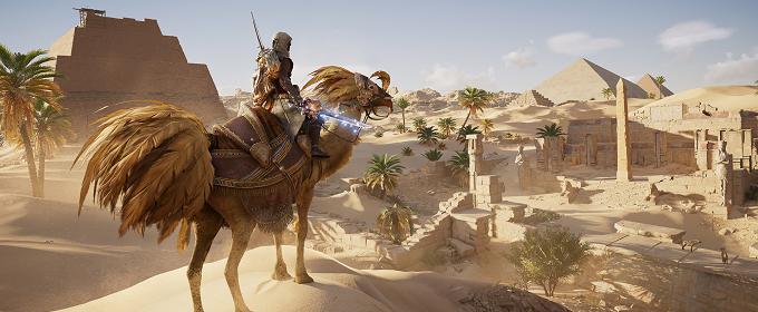 Assassin's Creed: Origins - Ubisoft добавила в игру контент из Final Fantasy XV