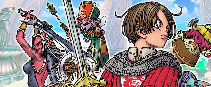 Dragon Quest X - Square Enix объявила релизное окно версий для Nintendo Switch и PlayStation 4