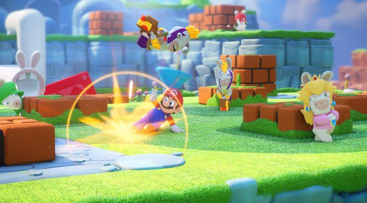 Вышла «Mario + Rabbids: Битва за королевство»