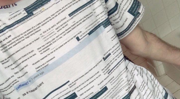 Гей-футболка по мотивам Metal Gear, и другие новости дня