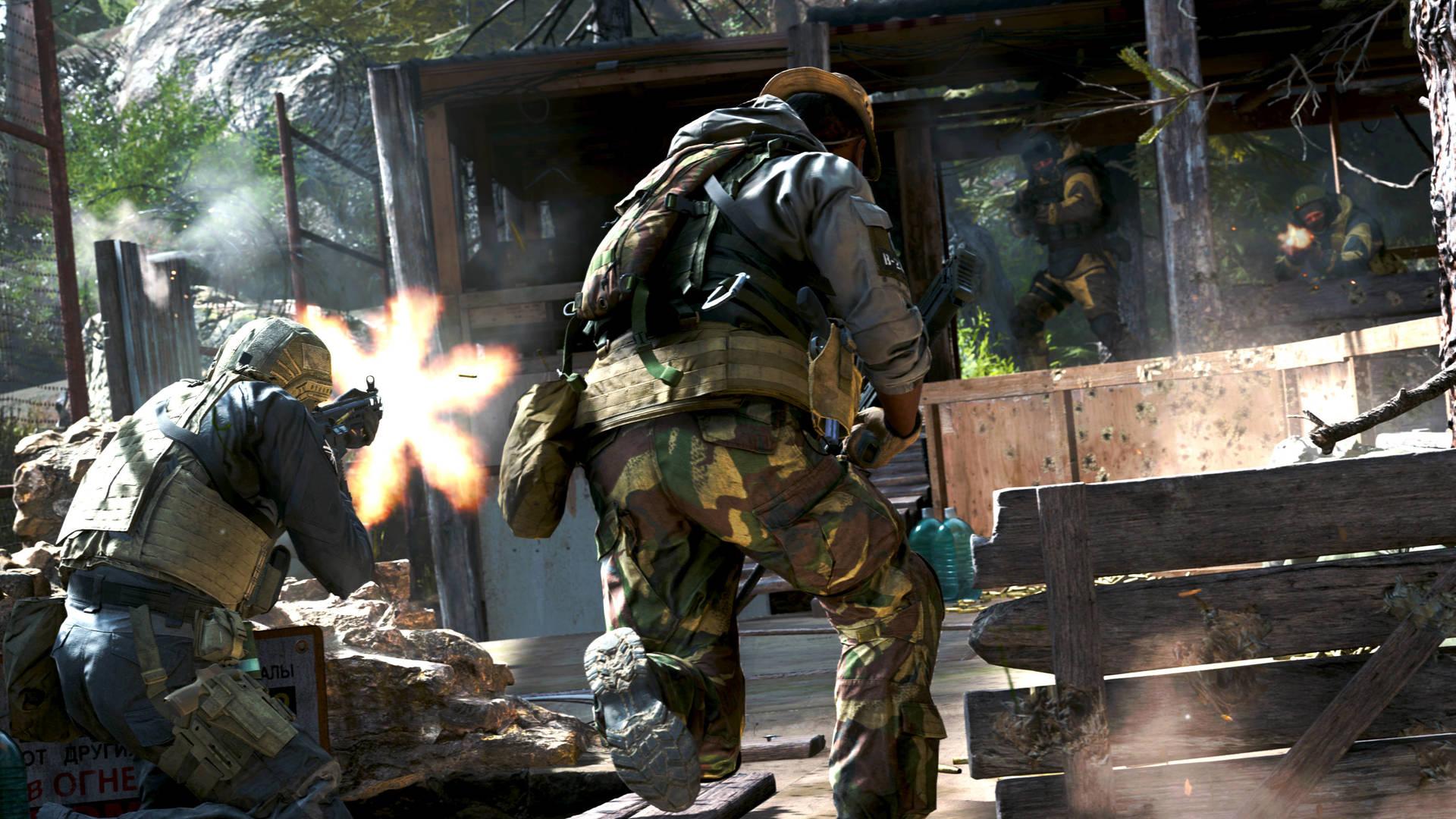 Новые подробности об игре Call of Duty: Modern Warfare