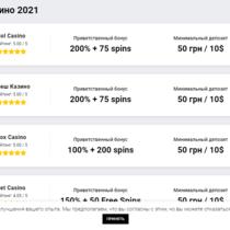 Обновлён ТОП лучших онлайн-казино Украины