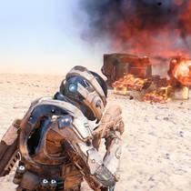 Игрок полностью прошел Mass Effect: Andromeda на максимальном уровне сложности ни разу не выстрелив