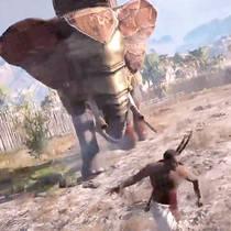 Геймер голыми руками одолел боевого слона в Assassin's Creed: Origins