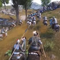 Открытый мир Mount & Blade II: Bannerlord в геймплее с Gamescom 2018