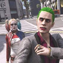 В GTA V нашли Джокера и Отряд самоубийц
