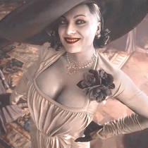 Горячая злодейка Resident Evil 8 Village возбудила фанатов своей грудью