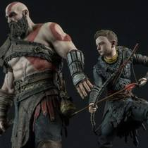 God of War - анонсирована большая фигурка Кратоса и Атрея за 20 тысяч рублей